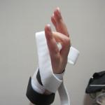 handspalken voor een betere flexie